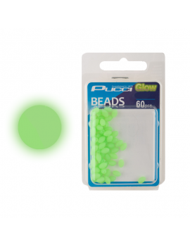 PUCCI SOFT GREEN ROUND BEADS
