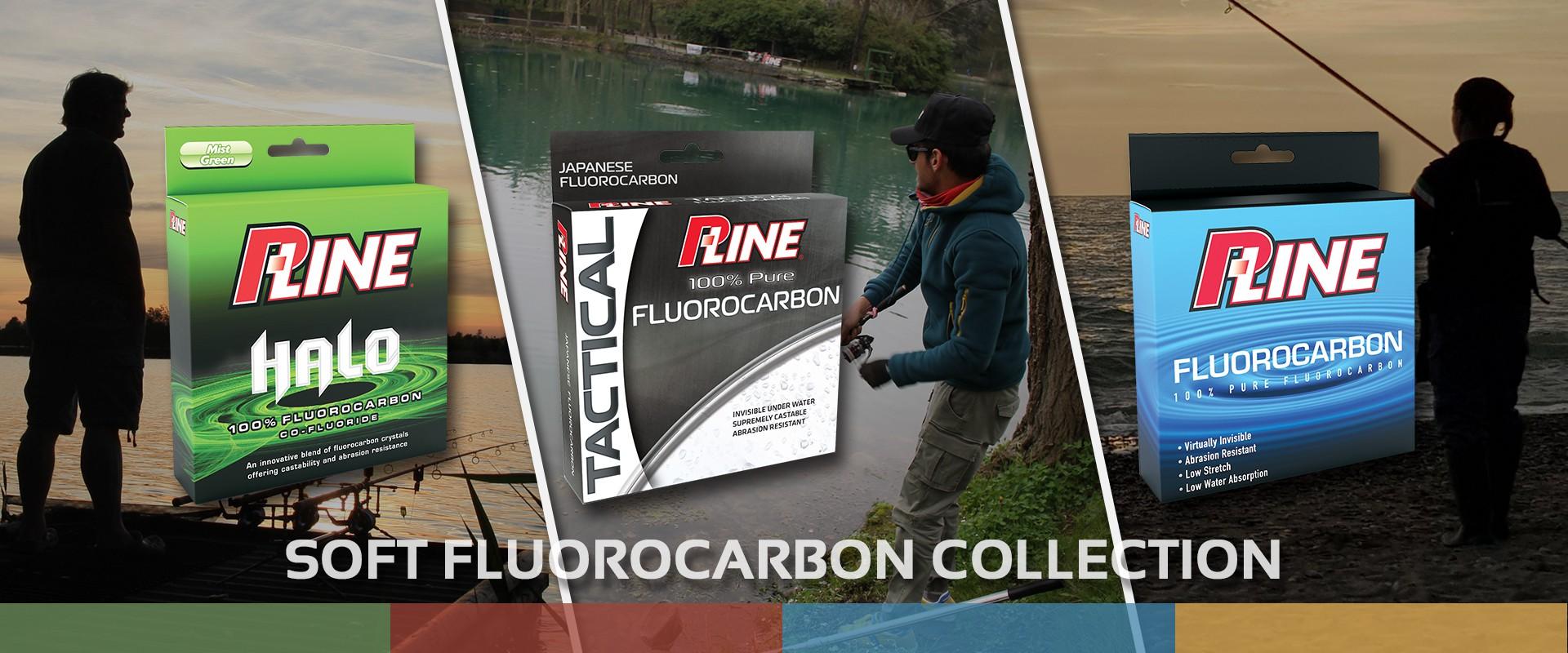 P-Line Fluorocarbonio morbido Halo, Tactical e Fluorocarbon Soft