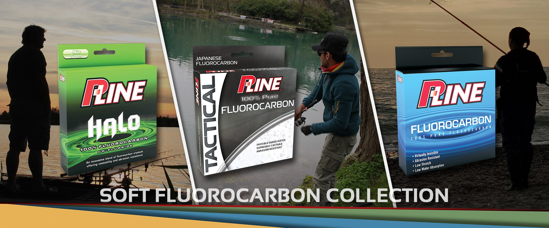 P-Line Soft Fluorocarbon Halo, Tactical and Fluorocarbon Soft